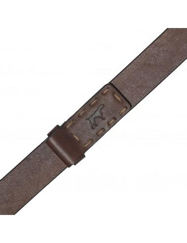Cinturón de hombre de piel liso