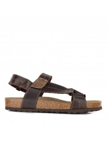 Sandalia de hombre bio textil Santorini