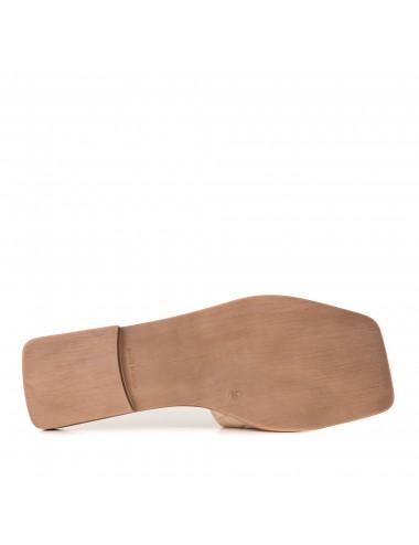 Zapatillas de piel con...