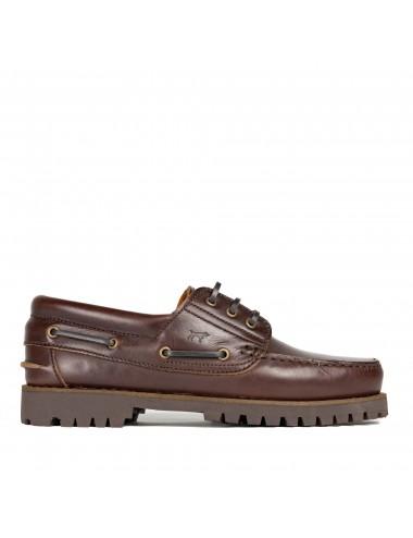 Zapatos Náuticos de Piel para hombre modelo Carter