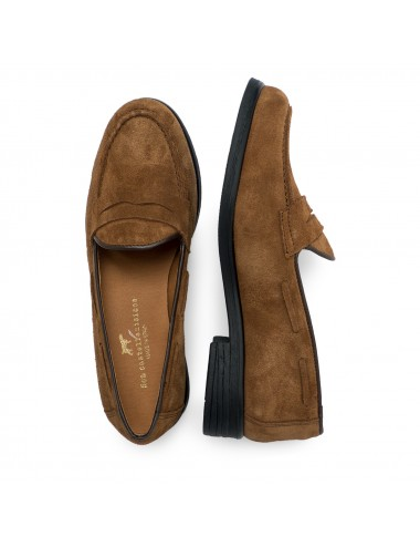 Leather Moccasins with...